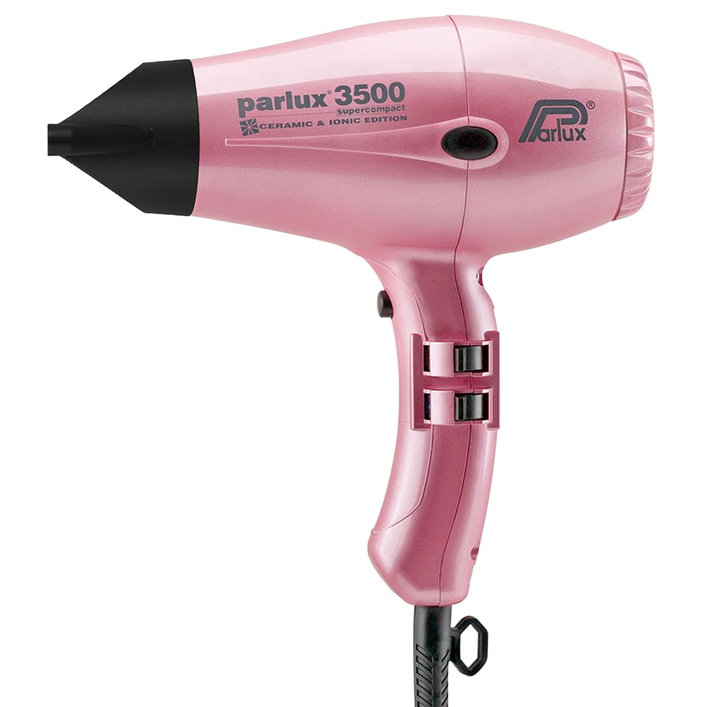 Parlux 3500 Super Compact Ionic and Ceramic Hair Dryer Pink