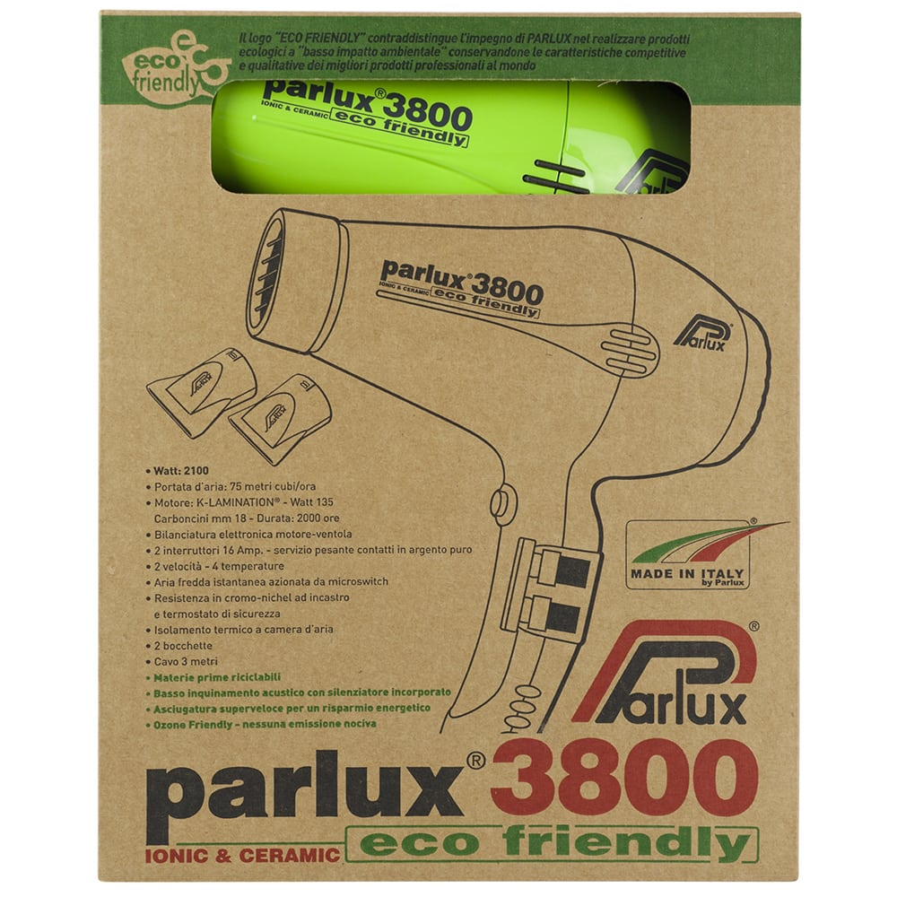 Parlux 3800 Eco Friendly Ionic and Ceramic Hair Dryer Shop Online