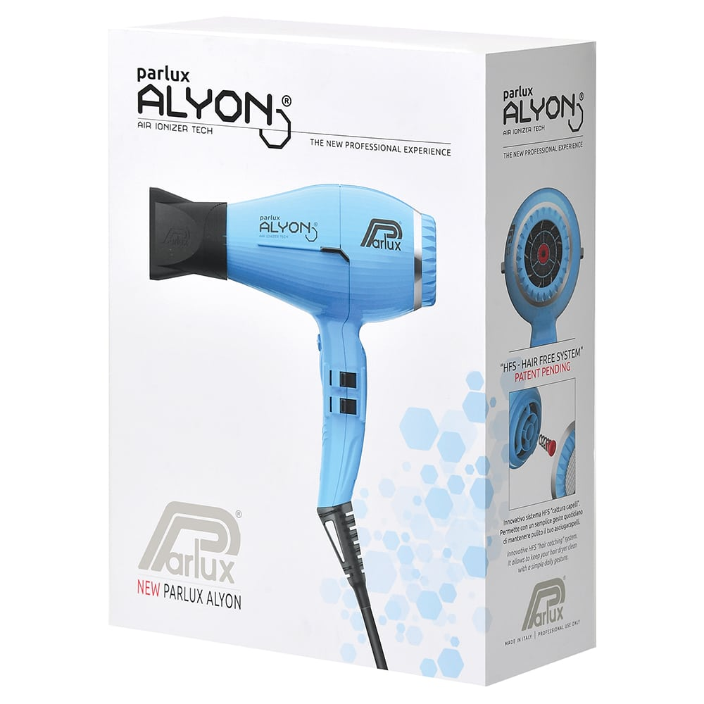 Parlux Alyon Air Ionizer Tech Hair Dryer Made in Italy