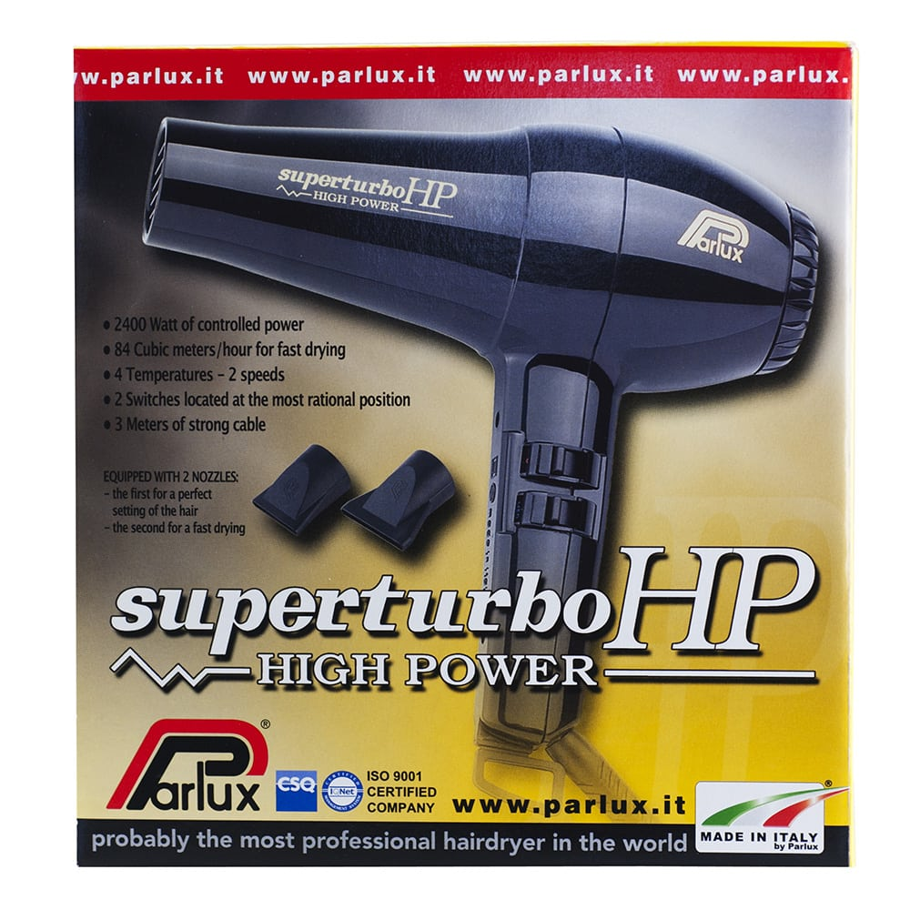 Parlux Superturbo HP Hair Dryer Made in Italy