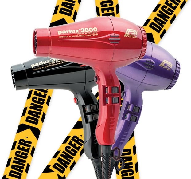 Counterfeit Parlux 3800 Hairdryer warning