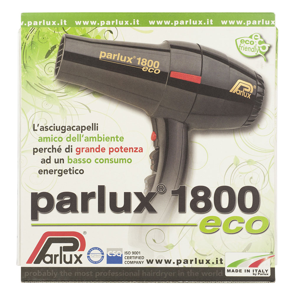 Parlux 1800 Eco Hair Dryer packaging